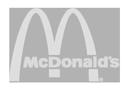 mcdonalds logo bw
