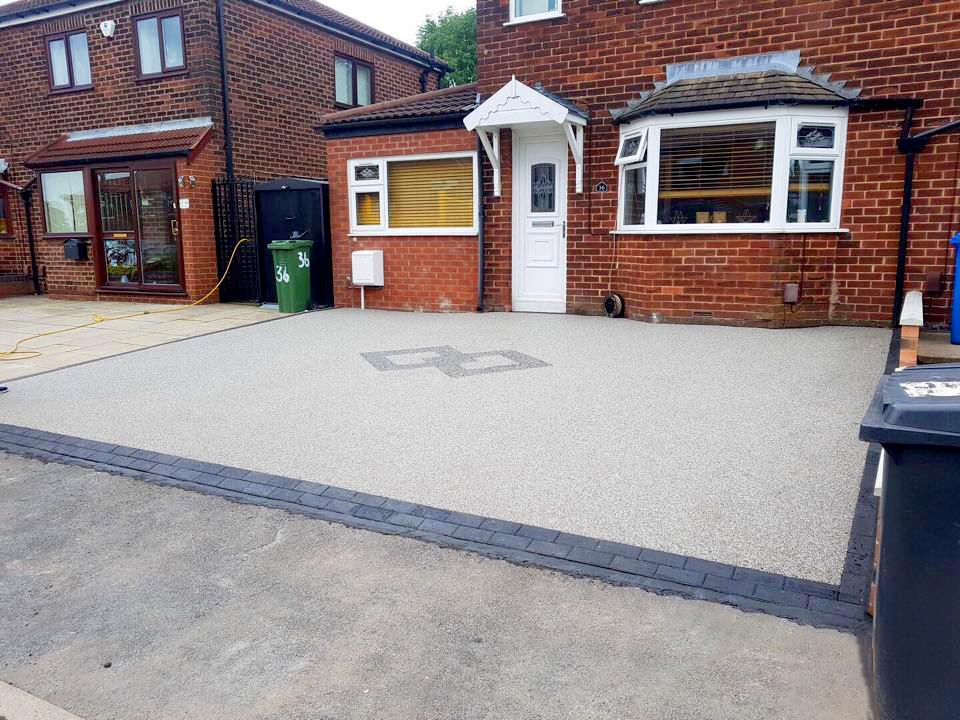 pebble driveways manchester
