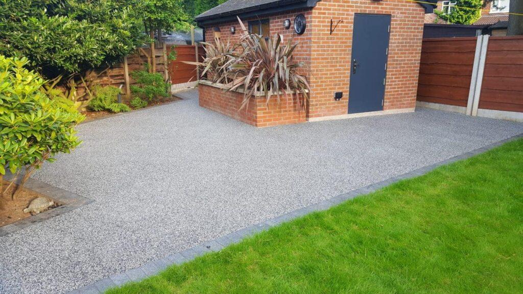 resin bound driveway installer manchester