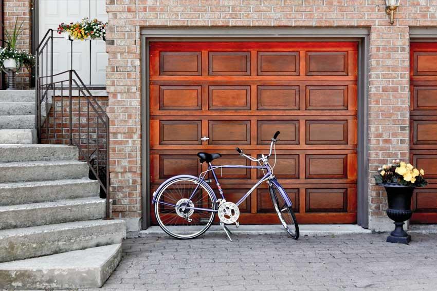 electronic garage door installation